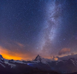 travel imagery/travel photographer collections coolbiere landscapes/milkyway matterhorn