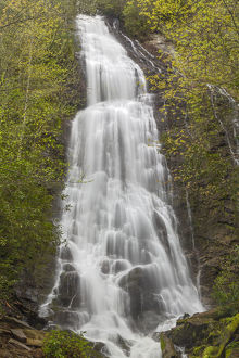 Mingo Falls, Great Smoky Mountains National Park, Tennessee, USA