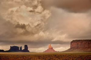 Monument Valley Storm Clouds