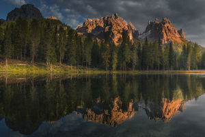 travel imagery/travel photographer collections coolbiere landscapes/mountain reflection lake antorno