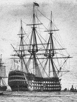 collections/heritage images/nelsons flagship hms victory