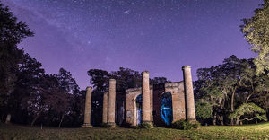 A Night at Sheldon Church Ruins
