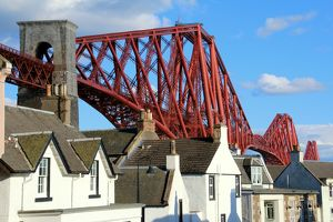 North Queensferry with the beautiful Forth bridge