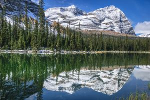 travel/unesco world heritage/odaray mountain mary lake lake ohara yoho
