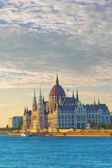 The Parliament of Hungary in Budapest