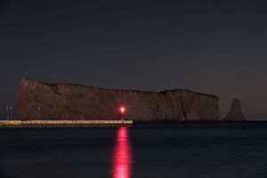Percé Rock Pier Light