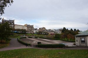 Princes Street FaA§ades, Ross Bandstand, Edinburgh, United Kingdom