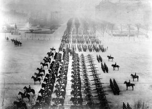 Prussians Parade