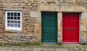 The red & Green Doors