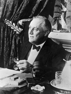 <b>Franklin D. Roosevelt (1882 - 1945)</b><br>Selection of 39 items