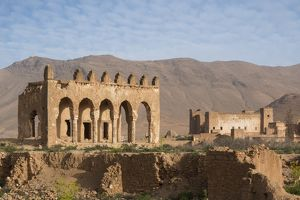 Ruins of the Taliouine kasbah and court building, Morocco