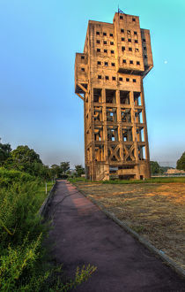 The Shime Mine Tower at Sunrise