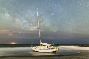 Shipwrecked Milky Way
