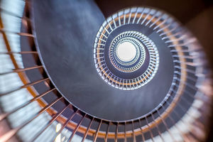 Shot Out of A Canon - Spiral Staircase