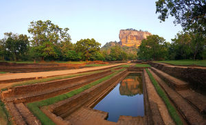 Sigiriya Rock, Sri Lanka (Unesco world heritage site)