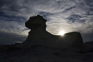 travel/unesco world heritage/sphinx backlight rock formation national park