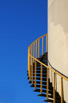 Spiral Staircase of Palm Oil Storage Tank