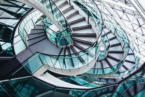 Spirals at City Hall, London, England