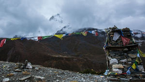 collections/gallo image collection gallo landscapes/stone marker buddhist prayer flags everest base