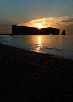 Sunrise in Percé, Gaspe