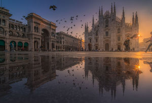 travel imagery/travel photographer collections coolbiere landscapes/sunrise view duomo cathedral