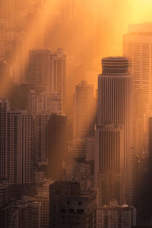 travel imagery/travel photographer collections coolbiere landscapes/sunset ambience hong kong city center