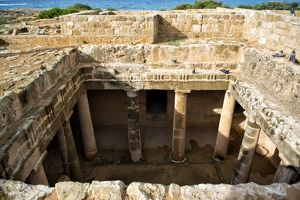 Tombs of the Kings, House of the pigeons | Pafos