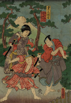 art/japanese art illustrations traditional japanese woodblocks/traditional japanese woodblock print actors