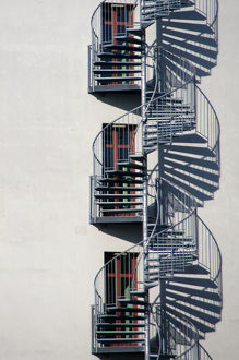 Triple helix stairs