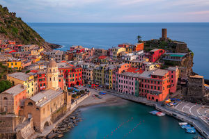 travel/photographer collections photography john tina reid/vernazza pastels