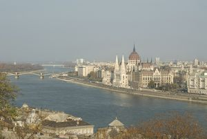 View of Budapest, Hungary, Europe