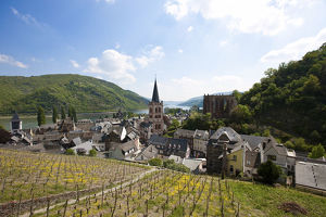 view historic district bacharach unesco world