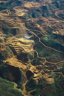 Aerial view of Nickel mines