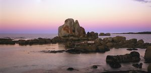 Afterglow at Picnic Rocks,