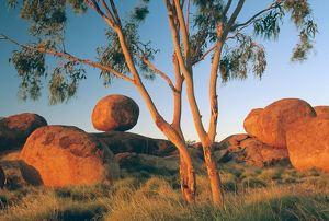 Devils Marbles at sunset