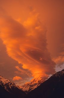 Mount Cook / Aoraki at sunset