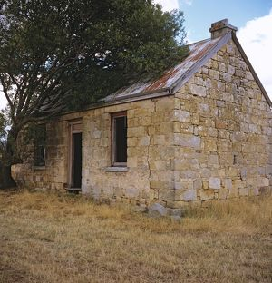 Old cottage near Stonor,
