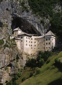 Predjama Castle, which dates from 1570,