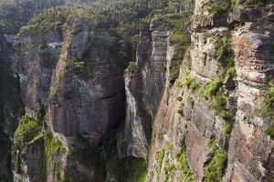 Sandstone cliff near Pulpit Rock,