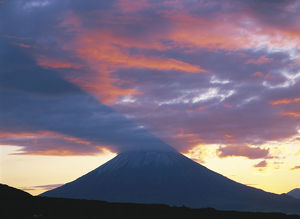 photographer galleries/nature production collection/sunrise mount yotei