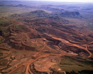 Tom Price open-cut iron ore mine
