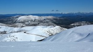View from the summit of Mount Hotham