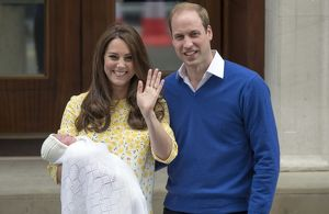 Newborn Princess Charlotte