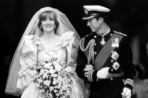 Prince of Wales and Lady Diana Spencer