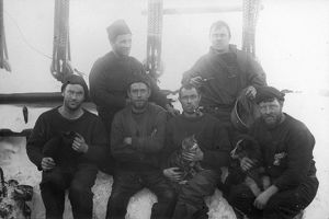 Crew of the ship Discovery. The Mess No.2