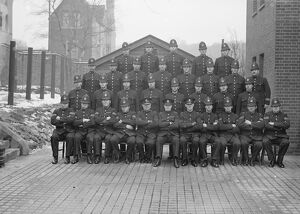 1940 <br> Police squadron at Shooters Hill, Kent, England