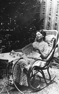 Christabel Pankhurst (1880-1958) daughter of Emmeline