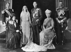 Elizabeth Bowes Lyon (Queen Mother) marries Duke of York (King George VI) Wedding