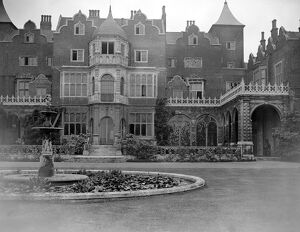 Holland House, Kensington, and gardens. 26 June 1924