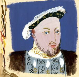 Michaela Gall - tudor portrait paintings King Henry VIII